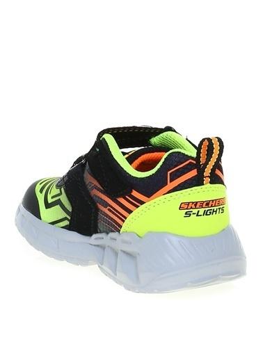 Skechers Skechers Siyah - Sarı Yürüyüş Ayakkabısı Siyah